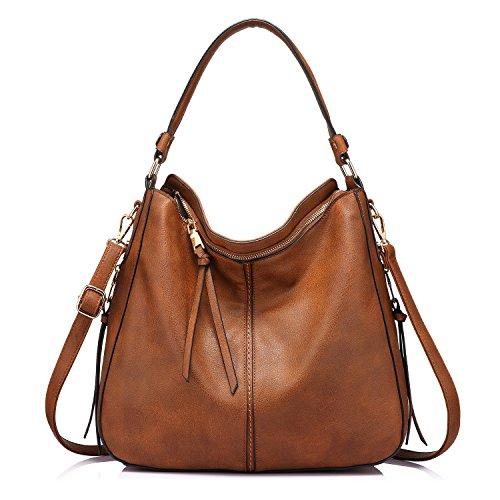 Handbags for Women Large Designer Ladies Hobo bag Bucket Purse Faux Leather