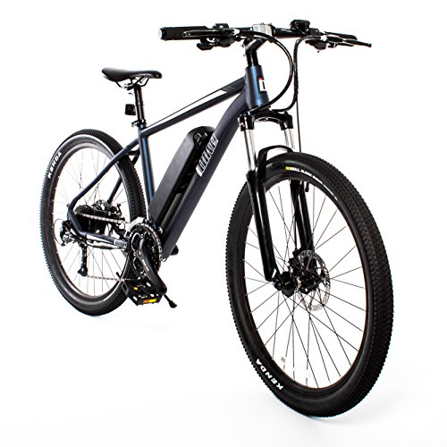 Mountaineer Electric Mountain Bike (Midnight Blue)