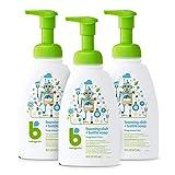 Babyganics Foaming Dish Soap, Pump Bottle, Fragrance Free, 16oz, 3 Pack, Packaging May Vary