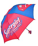 "Supergirl ""Dot Matrix"" Extendable Umbrella - pink, one size"