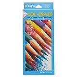 Prismacolor 20517 Col-Erase Colored Woodcase Pencils, 24 Assorted Colors/Set