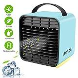 UPSTONE Portable Air Conditioner Fan, Personal Space Air Cooler Desk Fan Mini Evaporative Cooler Purifier...