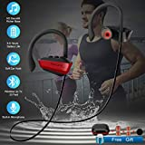 Sport Earbuds 8 Hour Playtime Bass Stereo Sweatproof Headphones for Workout Gym Men Exercise,Wireless Bluetooth Headphones Sport Waterproof Bluetooth Earphones with Mic for Running in-Ear Wireless