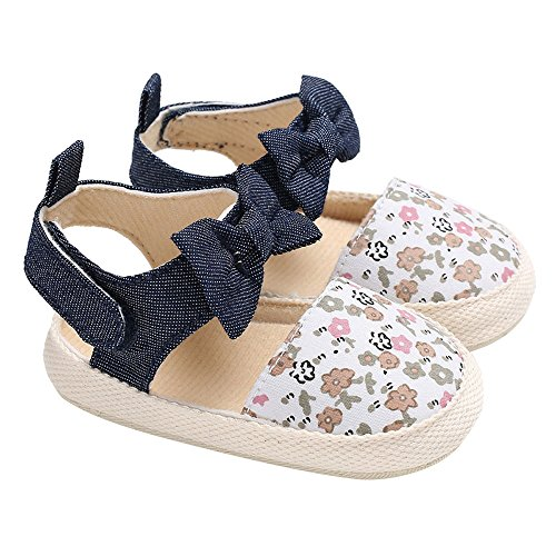 Baby Infant Kids Girl Bowknot Soft Sole Crib Toddler Newborn Shoes