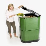 Motherson Auto Parts Aerobin Insulated Composter (400 Litre, Green and Grey) 14