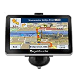 Car GPS Navigation, RegeMoudal 7 Inch Vehicle GPS Navigation for Car System 8G Memory Portable Truck Navigator Touch Screen Multimedia Pre-Installed US Lifetime Maps (Model 1)