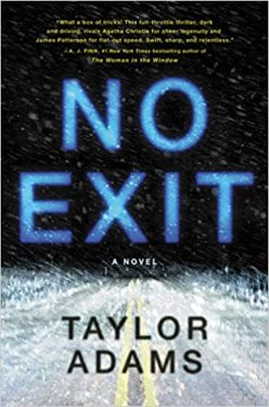 Best Summer reads: No exit by Taylor Adams