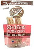 """Earth Animal No-Hide Salmon Chews 7"""" (Package Contains 2 Chews)"""