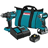 Makita XT279S 18V LXT Lithium-Ion Brushless Cordless 2-Pc. Combo Kit (3.0Ah)