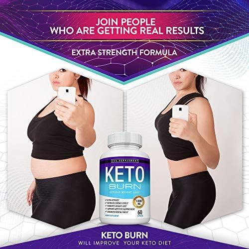 Keto Burn Pills Ketosis Weight Loss - 1200 Mg Ultra Advanced Natural Ketogenic Fat Burner Using Ketone Diet, Boost Energy Focus & Metabolism Appetite Suppressant, Men Women 60 Capsules, Lux Supplement 5