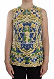 Product review for Dolce & Gabbana Multicolor Majolica Embroidered Sweater