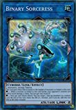 Yugioh 1st Ed Binary Sorceress SDCL-EN043 Super Rare 1st Edition Cyberse Link Cards.