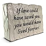 If love could have saved you - Memorial Stone (7.8 LB)