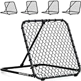 QuickPlay PRO Rebounder 3x3' – Adjustable Angle Multi-Sport Trainer | Soccer Rebounder or Baseball & Softball Pitch Back | Ideal for Team and Solo Training
