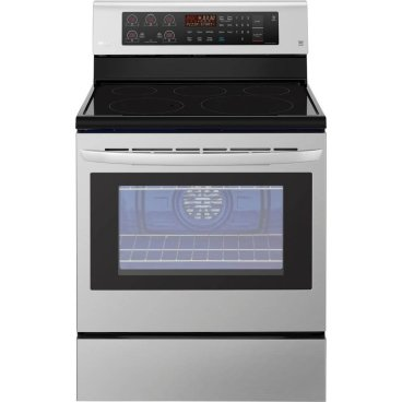 LG 6.3 Cu. Ft. Stainless Steel Electric StoveBlack Friday Deal 2019