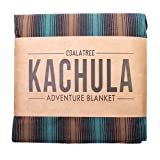 Coalatree Green Kachula Adventure Blanket V2- Packable, Multi-use Blanket Ideal for Traveling, Camping and Urban use