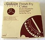 Sunbeam Vista Stainless Steel French Fry Cutter