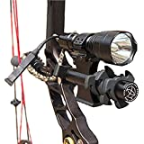 Gazelle-Trading Tactical C8T6 1200 lumen Archery Compound Bow Sight Flashlight with Damper Mount