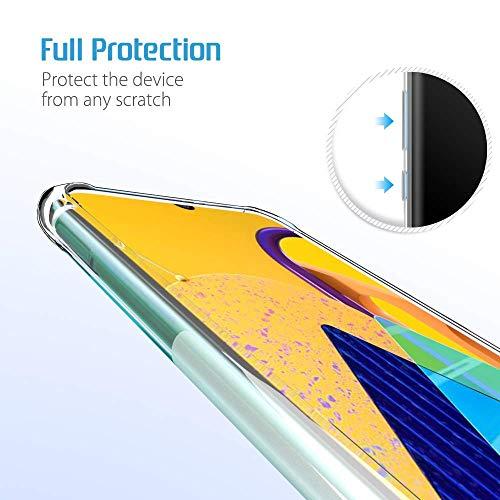 NTV Samsung Galaxy M30S (Transparent) Protective + Anti Shockproof Case 4