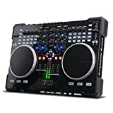 ADJ Products VMS5 is 6 channel stand alone Midi Controller with 2 Phono, 4 Line, 4 USB, 2 Mic inputs