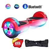 """jolege Hoverboard Smart Scooter Two-Wheel Self Balancing Electric Scooter 6.5""""Hover Board UL2272 Certified Battery Protection with 300W Dual Motors-Red"""