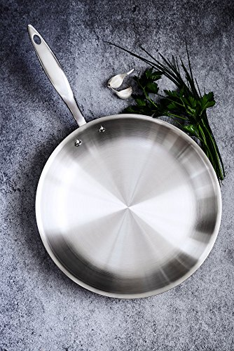 Heritage-Steel-12-Inch-Fry-Pan-Titanium-Strengthened-316Ti-Stainless-Steel-Pan-with-7-Ply-Construction-Induction-Ready-and-Dishwasher-Safe-Made-in-USA