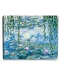DECORARTS - Water Lilies 1916-1919, Claude Monet Classic Art. Giclee Print Canvas Art for Wall Decor 30x24