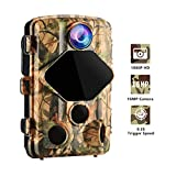 Trail Hunting Game Wansview Camera 16MP 1080P HD, with 0.2S Trigger Speed and 120° Wide Viewing Angle, 70ft Detecting and Night Vision Range, IP56 Waterproof for Wildlife and Home Security T01