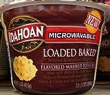 Idahoan Microwavable LOADED BAKED MASHED POTATOES 1.5oz - 4 Pack