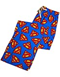 Superman - Mens Superman Broadcloth Lounge Pant, Blue 36551-Medium