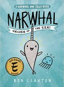 Book cover for NARWHAL AND JELLY: THE UNICORN OF THE SEA