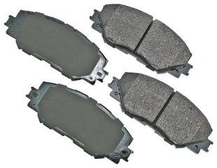 Akebono ACT1210 ProACT Brake Pad Set