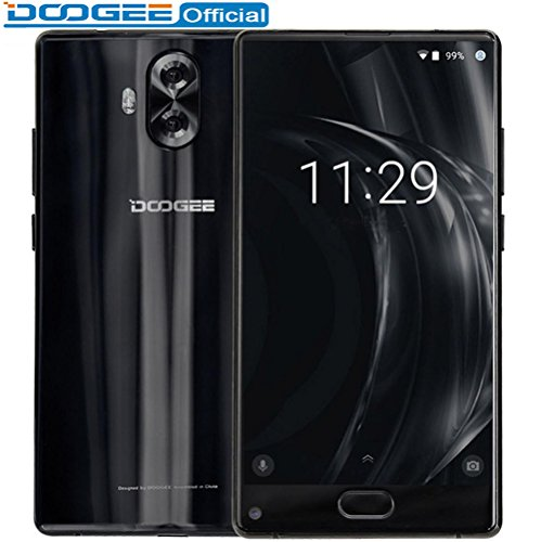 DOOGEE MIX Lite Smartphone Dual Camera 5.2'' MTK6737 Quad Core 2GB+16GB Android 7.0 3080mAh Fingerprint Mobile Phones Unloacked