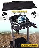 DigitalArts.ws Classic 32' Walk with Me - Treadmill Desk Attachment - Leather Theme