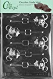 Cybrtrayd Life of the Party A022 Mouse Lolly Mickey Chocolate Candy Mold in Sealed Protective Poly Bag Imprinted with Copyrighted Cybrtrayd Molding Instructions