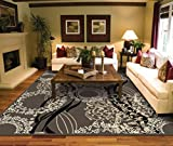 AS Quality Rugs Large Living Room 8x10 Contemporary Light Brown Clearance Area 100 Prime Rug