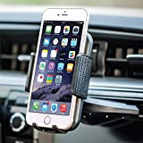 Bestrix Universal CD Slot Phone Holder for Car Ideal for iPhone X, 8, 7, 6, 6S Plus. 5S, 5C, 5, Samsung Galaxy S5, S6, S7, S8, Edge/Plus Note 4,5,8, LG G4, G5, G6, V30 All Smartphones up to 6
