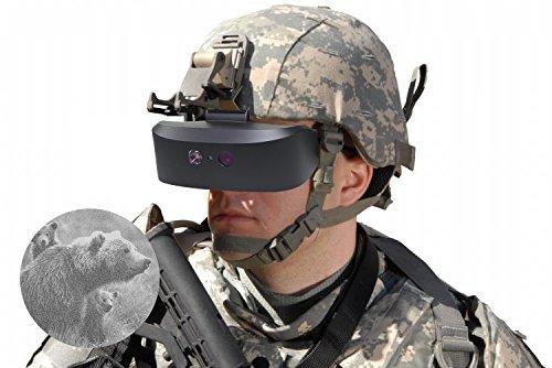 Ocean-City Tracker Night Vision Goggle Binoculars Water-Resistant Optics Near-infrared Illuminator for Wildlife Viewing, Hunting, Surveillance