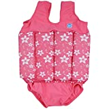 Splash About Collections Float Suit - Adjustable Buoyancy, 1-6 Years (1-2 Years (Chest: 51cm Length: 37cm)), Pink Blossom