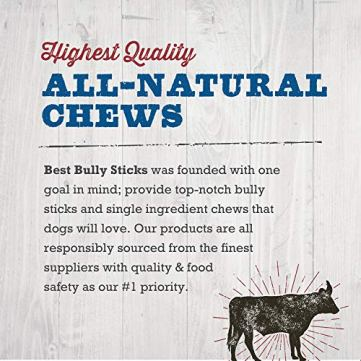Best-Bully-Sticks-Prime-Thick-Cut-Cow-Ear-Dog-Chews-12-Pack-Sourced-from-All-Natural-Free-Range-Grass-Fed-Cattle-with-No-Hormones-Additives-or-Chemicals-Hand-Inspected-and-USDAFDA-Approved