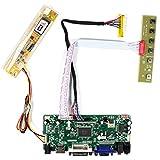HDMI+VGA+DVI+Audio Input LCD Controller Board For B156XW01 LTN156AT01 15.6' 1366x768 1CCFL 30Pins LCD Panel