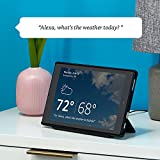 Fire HD 10 Tablet with Alexa, 10' HD Display, 32 GB, Red - with Special Offers + Show Mode Charging Dock