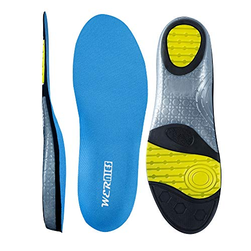 WERNIES Shoes Inserts for Men - Performance Insoles Sneakers Insoles for Running, Low Arch Support Insoles for Women Mens Inserts for Hiking, Removable Insoles Adjustable Insoles, Work Boots Insert …