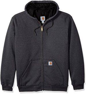 Carhartt Men's Big & Tall Rutland Thermal Lined Zip Front Sweatshirt Hoodie