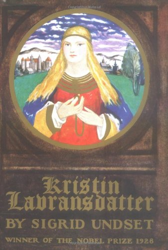 Book jacket of Kristin Lavransdatter. An Example of literature to read during a pandemic.