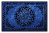 Sarongs - Assorted Circular Celtic Knot Designs, Varying Shades of Blue, Gift