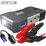 JACO BoostPro Car Battery Jump Starter - Super Powerful Portable Jumper Start Pack for Vehicles, Motorcycles, Diesel Trucks, ATVs, Lawn Mowers, and Boats - 600A Peak / 16500mAh