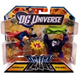 Mattel DC Universe Action League Superman vs. Bizarro 3-Inch Mini Figures
