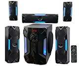 Rockville HTS56 1000w 5.1 Channel Home Theater System/Bluetooth/USB+8' Subwoofer