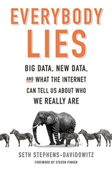 "Image result for ""Everybody Lies,"" Seth Stephens-Davidowitz"